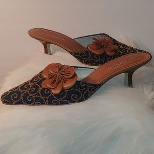 Liz Claiborne Slide with kitten heel  Size 7.5 M